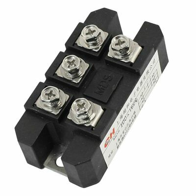 ChaoHe MDS-100A 5 Terminals 3 Phase Diode Module Bridge Rectifier 100A 1600 H8Q7