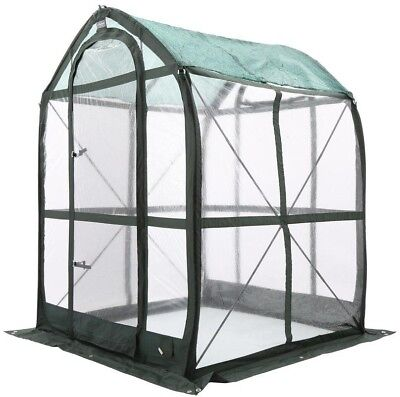 Pop-Up Portable Greenhouse Green Flower House Plant Floorless 5 ft. x 5 ft.