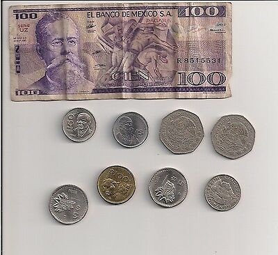 Lot of Mexican pesos