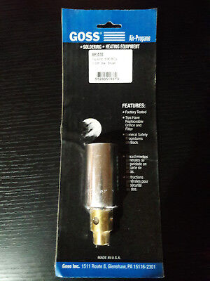 Goss BP-5TE Air Propane Tip 1 3/8in Diameter Brush Flame