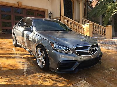 2014 Mercedes-Benz E-Class E63 Brabus 850 2014 Mercedes Benz E63 BRABUS 850 ONLY 7k Miles! Only one in USA RARE AMG