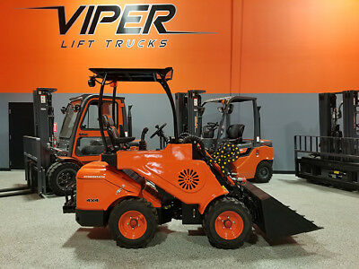 2018 Viper 918 1200Lb Pneumatic Multi Function Wheel Loader Skid Steer Loader