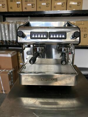 Cheap 10 Amp Expobar 2 Group Compact Commercial Coffee Machine