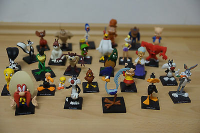 30 Figuren Looney Tunes Warner Bros Voller Satz inkl. Willy II Coyote HELP