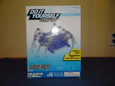 Do it yourself tech kit mini solar powered robot makes 3 types dino do it yourself tech kit spiderbot with real crawling action new sealed tq4748 solutioingenieria Gallery