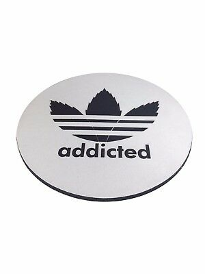 Dab Pad – Mouse Pad – NUGGLIT – USA Shipper – Limited Edition - Round - Addicted