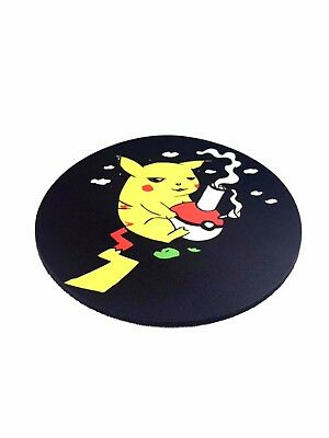 Dab Pad – Mouse Pad – NUGGLIT– USA Shipper –Limited Edition-Round - Pikachu Bong