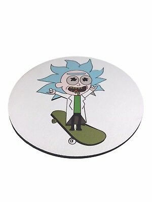 Dab Pad – Mouse Pad – NUGGLIT – USA Shipper – Limited Edition - Round -Tiny Rick