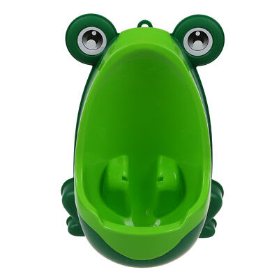 Baby Boys Kids Toddler Potty Training Pee Trainer Mini Toilet (Frog Green) T3A6