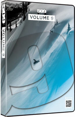 509 Films DVD Volume 9 Snowmobile Industry Ride 509 Backcountry Chris Burandt