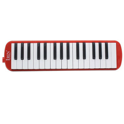 IRIN 1 set 32 Key Piano Style Melodica With Box Organ Accordion Mouth Piece B6P3