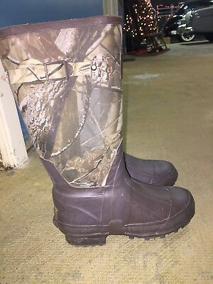 REDHEAD 100% Waterproof BOYS SIZE 3 Camo Hunting/outdoor Boots
