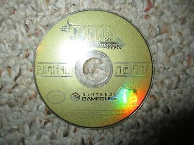 Legend of Zelda: The Wind Waker (Nintendo GameCube, 2003) Disk Only