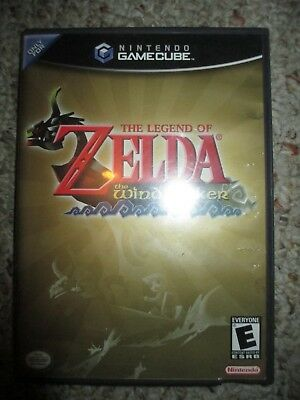 Legend of Zelda: The Wind Waker (Nintendo GameCube, 2003) Complete Original