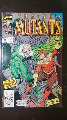 The New Mutants #86 (Feb 1990, Marvel)~ 1st Cable Cameo App.