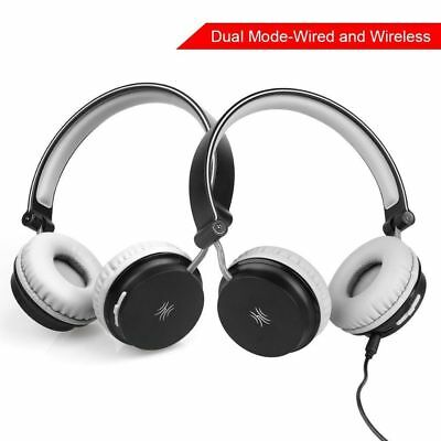 KIDS On-Ear Bluetooth Headphones with Microphone For Kids Boys/ Adult,Stereo