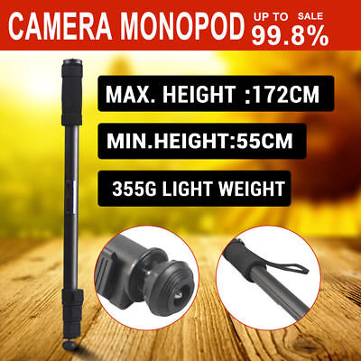 Extendable Portable MONOPOD Tripod Unipod Holder 172CM for Digital Camera DSLR