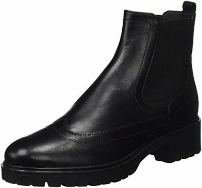 Geox D Peaceful A Stivali Chelsea Donna Nero Black 38 EU j6Y