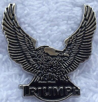 LAPEL PIN BADGE~ Triumph Eagle.    B031002