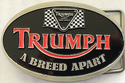 Belt Buckle ~ Triumph  a breed apart.  B041003