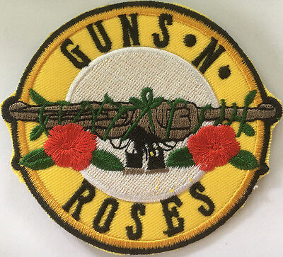 Embroidered cloth patch ~Guns-n-Roses.    D020602