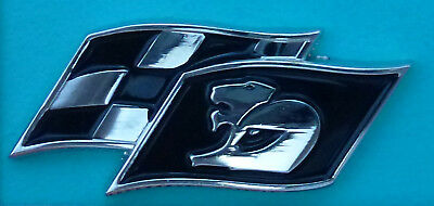 Hat Pin Badge ~Maloo, R8 Supercars V8 black. ~      C040202