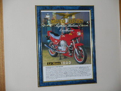 Moto Guzzi 1000 Le Mans Mk 1V : Does not come with frame