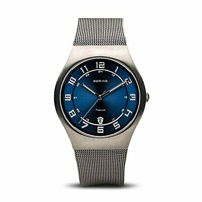 BERING Time 11937-078 Mens Classic Collection Watch with Mesh Band and scratch r