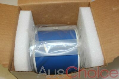 "BRADY GlobalMark Vinyl Label Tape Roll Cartridge 4in x100ft BLUE 4"" - New"