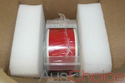 "BRADY GlobalMark Vinyl Label Tape Roll Cartridge 2.25in x100ft RED 2.25"" - New"