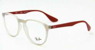 a81cd3bedbd New Ray-Ban Rb 7046 5485 Red Eyeglasses Authentic Frames Rx Rb7046 51-18