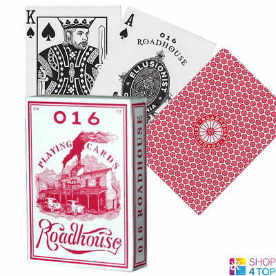 Ellusionist Roadhouse Red Bicycle Playing Cards Deck Magic Tricks Uspcc New