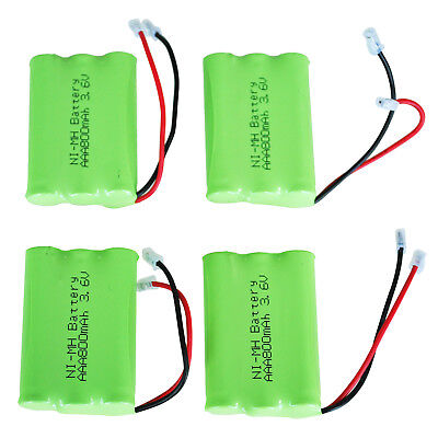 4x 3.6v 800mAh Home Phone Battery for Uniden BT-446 BP-446 BT-1005 BT1005 S0J4