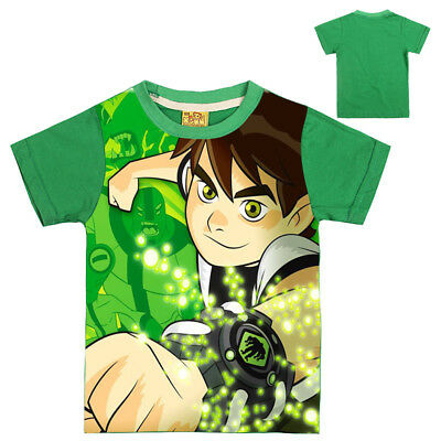 Ben10 Cartoon Kids tshirts T-shirts Cotton SweatShirts Tops Costume clothing AU