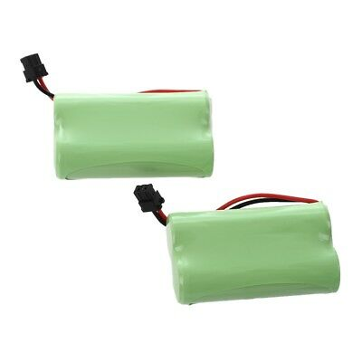 2-Pack Replacement Home Cordless Phone Battery (2.4V/1400mah) for Uniden BT M1E1