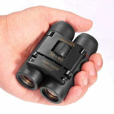 30x60 Folding Binoculars Telescope with Low Light Night Vision for outdoor