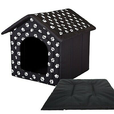 Fabric Dog House Tent Igloo for Pet Doghouse Bed Hobbydog indoor + Pillow Pad