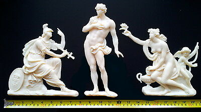 Large French Antique Louis Xiv Style White Resin Wall Door Moulding Decoration