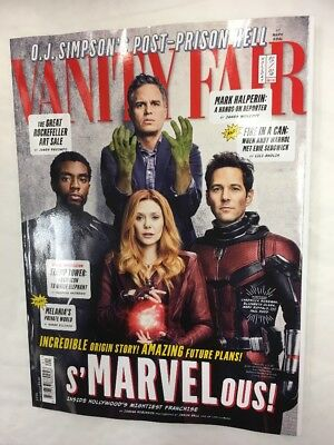 Vanity Fair Magazine Issue 689 Holiday 2018 Cover 2 Of 4 Hulk Antman Black Panth