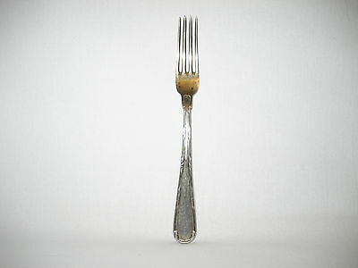 Vintage silver fork Julius Herz Germanythe end of the 19th century. Very rare!!
