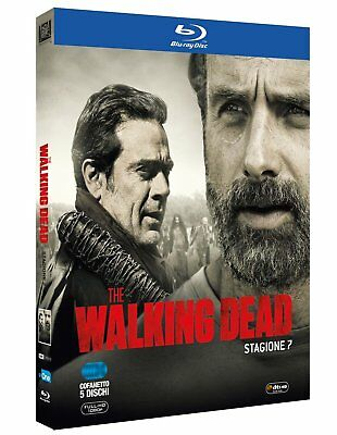 The Walking Dead - Stagione 7 (5 Blu-Ray) Cofanetto Nuovo, Italiano, Originale