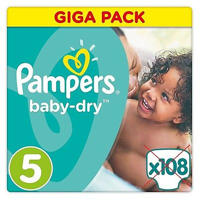 pampers baby dry 5 windeln gr e 5 11 23kg jumbo pack 72 st ck eur 33 10 picclick de. Black Bedroom Furniture Sets. Home Design Ideas
