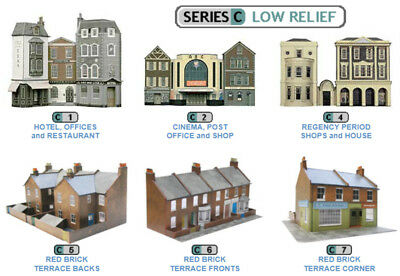 Superquick C1-C7 Low Relief Building Card Kits