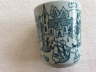 "Nymolle, Art Faience Hoyrup, Denmark Limited Edition Cup 2 3/4"" x 2 1/4"" Sale"