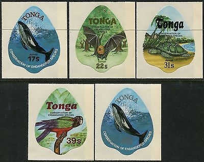 Tonga 1978 SG695-699 Endangered Wildlife Conservation Airmail set MNH