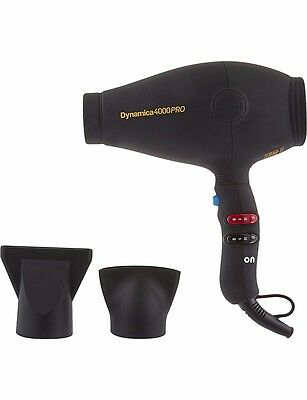 DIVA Dynamica 4000 Pro Black Rubberized Hair Dryer Brand New Boxed 100% GENUINE