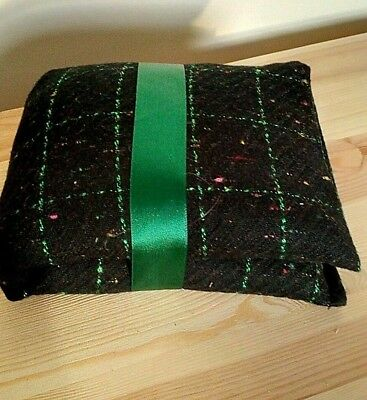 Handmade Flax Linseed or Wheat Microwaveable Heat Chill Pad/Bag (long) Cosy Warm