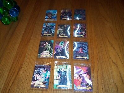 Harry Potter Chocolate Frogs 12 Card Complete Set Still Sealed