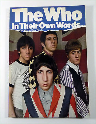 """Buch: THE WHO """"In Their Own Words"""" UK 1979 by Steve Clarke OMNIBUS"""