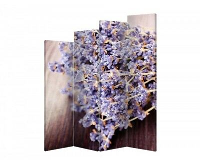 Two-sided decorative screen flowers 09045 180x120